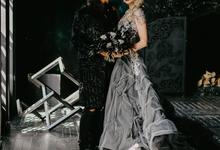 Gothic wedding by Ksenia Riley