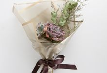 Custom Bouquet by Kopi dan Tanaman