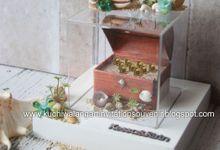 Wedding Ring Box Mahar MH 03 by Kuchiwalang Art