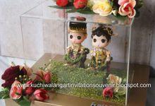Wedding Ring Box Mahar MH 06 by Kuchiwalang Art