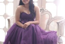 Favor Prewedding Gown - Exotic Like Grapes by Favor Brides