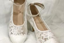 Mala white open toe by Helen Kunu by Kunu Looks