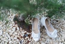 Bride shoes  by Helen Kunu by Kunu Looks