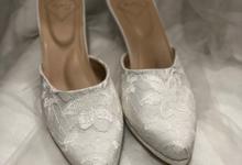 Selop basic sepatu pengantin by Helen Kunu by Kunu Looks