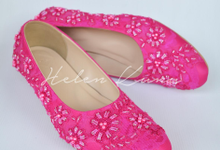Pink fucsia heels  by Helen Kunu by Kunu Looks