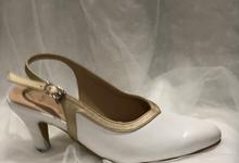 Veronica white heels by Helen Kunu by Kunu Looks