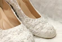 Selvi heels by Helen Kunu by Kunu Looks