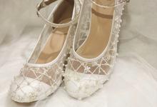 Starry wedding shoes by Helen Kunu by Kunu Looks