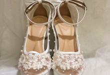 Debora wedding shoes by Helen Kunu by Kunu Looks