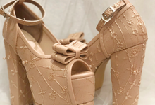 Elfine wedding shoes by Helen Kunu by Kunu Looks
