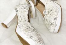 ARRA wedding white shoes by Helen Kunu by Kunu Looks