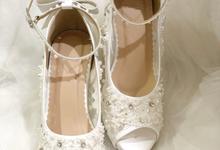 CLARA wedding white shoes by Helen Kunu by Kunu Looks