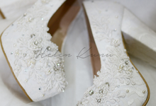 Brigitta wedding shoes by Helen Kunu by Kunu Looks