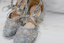 Pots heels wedding by Helen Kunu by Kunu Looks