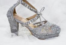 Pots heels wedding by Helen Kunu by Kunu Looks