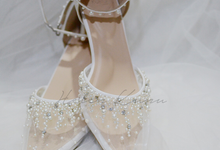 Windy wedding heels by Helen Kunu by Kunu Looks