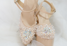 Linda wedding heels by Helen Kunu by Kunu Looks