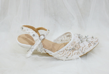 felicia wedding shoes by Helen Kunu by Kunu Looks