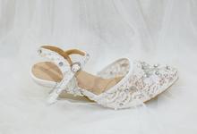 felicia wedding shoes by Helen Kunu by Kunu Looks