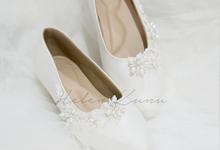 Yuri Kitten Heels wedding shoes by Helen Kunu by Kunu Looks