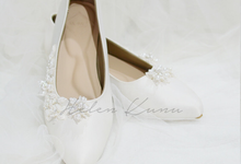 Yuri Kitten Heels wedding shoes by Helen Kunu by Kunu Looks