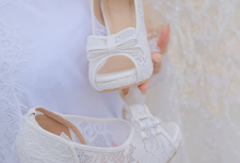 Ms Erni Wedding Shoes by Helen Kunu by Kunu Looks