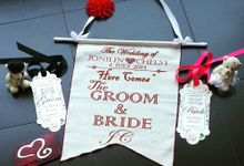 Wedding Flag by Sweetlovecollection