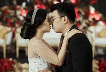 INTERNATIONAL WEDDING OF KEVIN & WIDYA by  Menara Mandiri by IKK Wedding (ex. Plaza Bapindo)