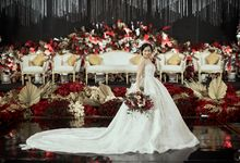 INTERNATIONAL WEDDING OF KEVIN & WIDYA by  Menara Mandiri by IKK Wedding (ex. Plaza Bapindo)