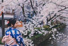 Kyoto Sakura Pre Wedding Shoot by Yipmage Moments