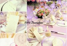 Christian And Natalia Wedding by 1994 Decoration