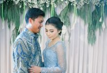 Dian & Uko Engagement by Katha Photography
