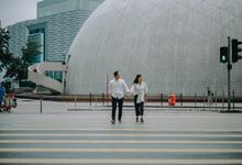 Architecture Prewedding Session Hong Kong Deandra & Hafidz by Hexa Images