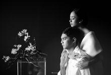 The Prewedding of Alya & Rizky by Amorphoto