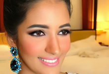 Indian's Bridesmaids 2016 by PoppySoeratno Make Up Artist