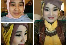 party make up n hijab by Jlita talita