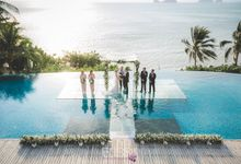 Lucy and Alex wedding at Conrad Koh Samui by BLISS Events & Weddings Thailand