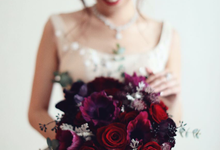 ryan & marcellina by La Bloom Florist