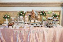Wedding of Ade & Lisa - Jardin Sweet Corner by Questo La Casa Pastry