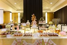 Wedding of Christian & Emilia - Suede Sweet Corner by Questo La Casa Pastry