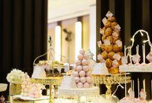 Wedding of Christian & Emilia - Suede Sweet Corner by Questo La Casa Pastry