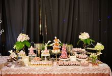 Wedding of Yongki & Indhira - Jardin Sweet Corner by Questo La Casa Pastry