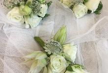 Bride P's wedding  by La Fleur Société