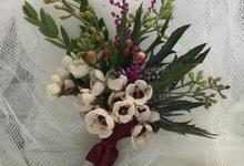 N's Wedding  by La Fleur Société