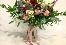 Premium Bridal Bouquet  by La Fleur Société