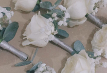 Bouttonniere by Lacey Florist