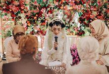 Putri & Rio  Akad Nikah by  Menara Mandiri by IKK Wedding (ex. Plaza Bapindo)