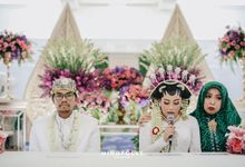 Aris & Bena Wedding - Akad by  Menara Mandiri by IKK Wedding (ex. Plaza Bapindo)