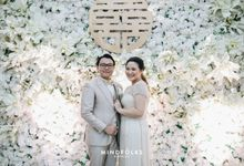 The Holy Matrimony and Wedding Reception of Shilla & Wili by  Menara Mandiri by IKK Wedding (ex. Plaza Bapindo)