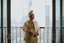 From Lulu & Iqbals Akad by  Menara Mandiri by IKK Wedding (ex. Plaza Bapindo)